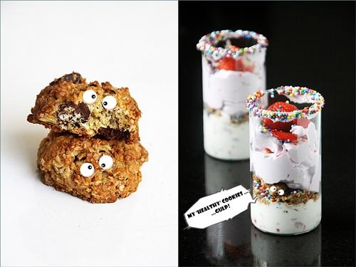 Cookies & Cream Strawberry Sundae