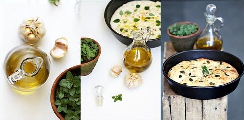 Roasted Garlic Foccacia