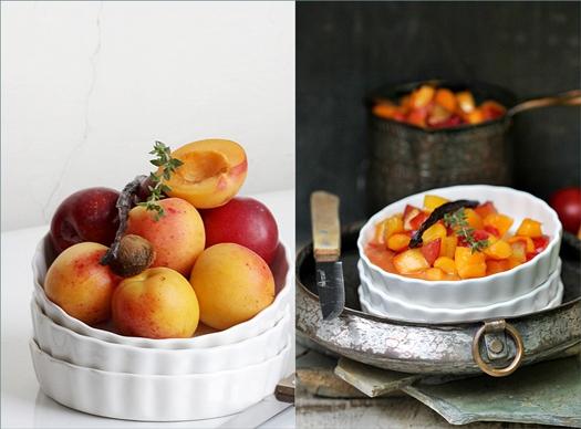 Apricot & Plum Cobbler