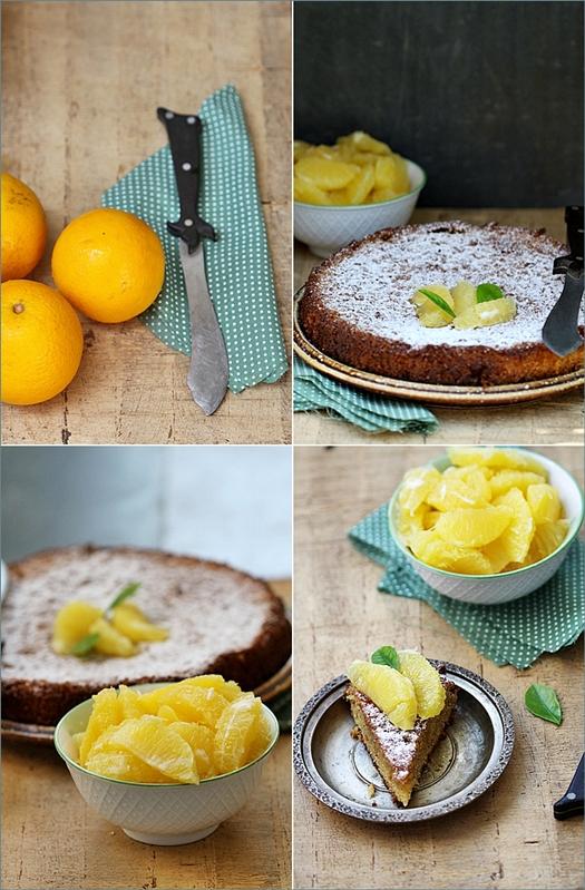 Orange Almond Olive Oil Cake