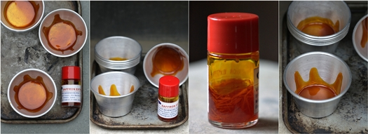 Saffron Caramel Panna Cotta extract