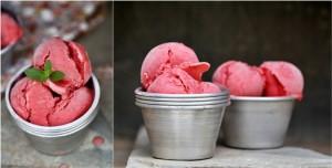 Strawberry Frozen Yogurt