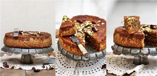 Armenian Nutmeg Walnut Cake
