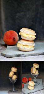 Macaron à la Peaches et Crème