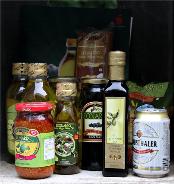 Leonardo Olive Oil Meet - Goodie baskets