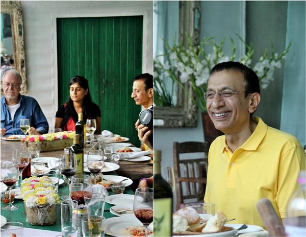 Mr V N Dalmia @ Olive Bar & Kitchen Mehrauli, New Delhi