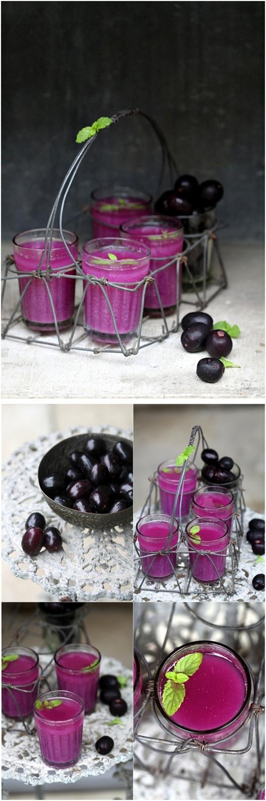 Wild Indian java plum {jamun} sherbet