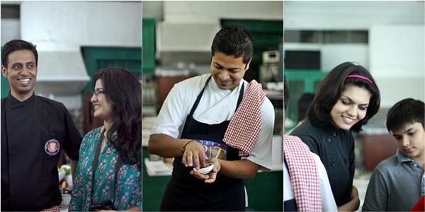 Chef Saby, Chef Saurabh & Chef Astha