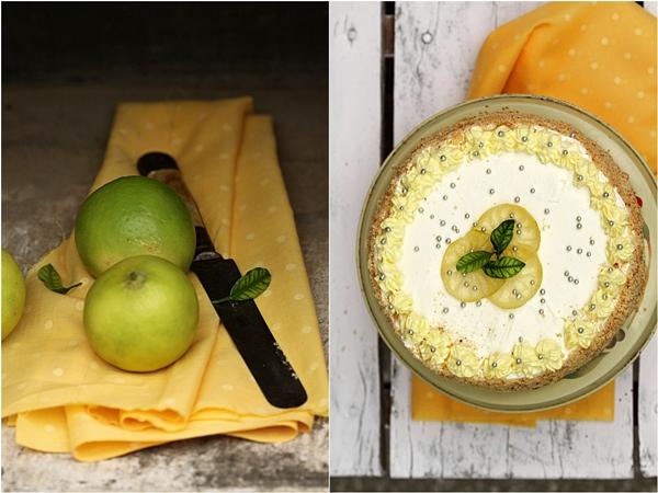 Lime 'n Lemon Quark Cream Cake
