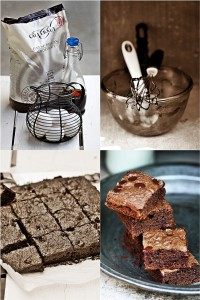 Wholewheat Double Chocolate Brownies