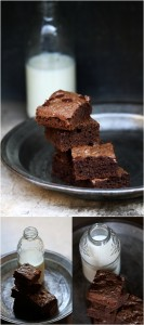 Wholewheat Double Chocolate Brownies 8