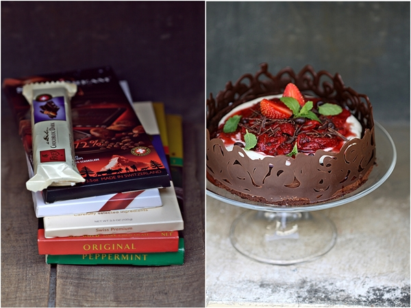 Bittersweet Chocolate Fallen Cake