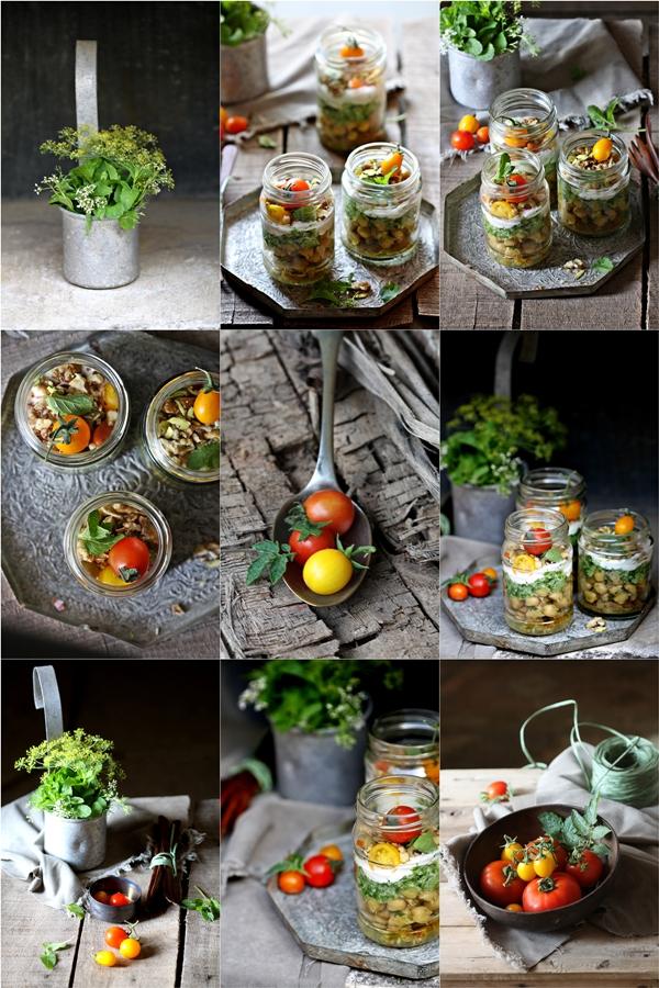 Minty Chickpea Yogurt Parfaits 6