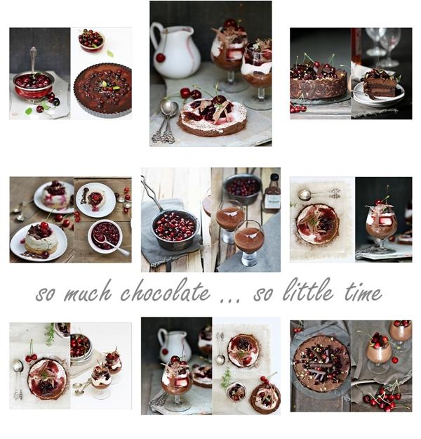 Dark chocolate & cherries