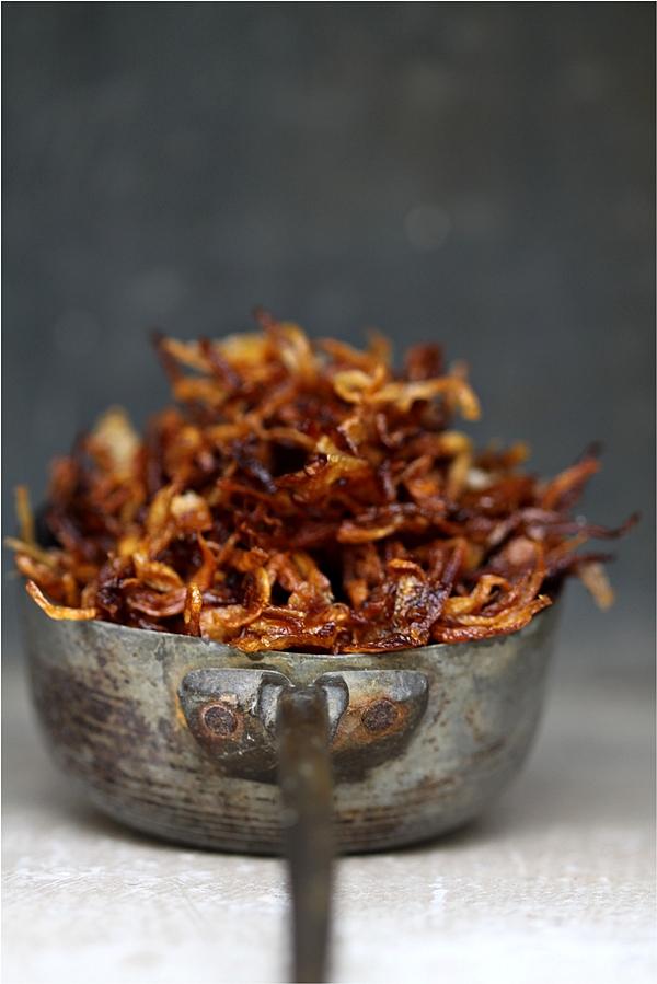 Fried Onions for Korma