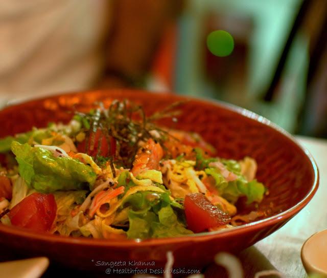 Chirashi Seafood salad