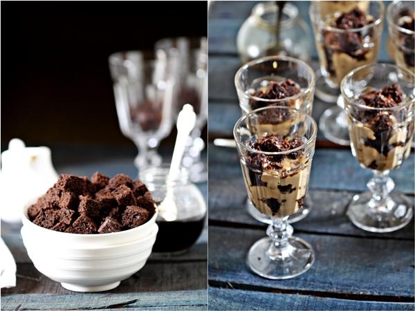 hocolate Cake & Coffee Patisserie Cream Trifles