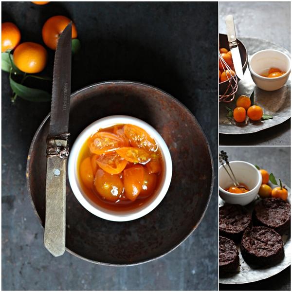 Dark Chocolate Kumquat Mousse