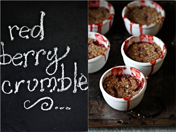 Red Berry Crumbles