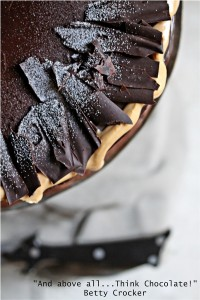 Chocolate Cake with Dulce de Leche