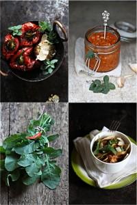 Roasted bell pepper pesto