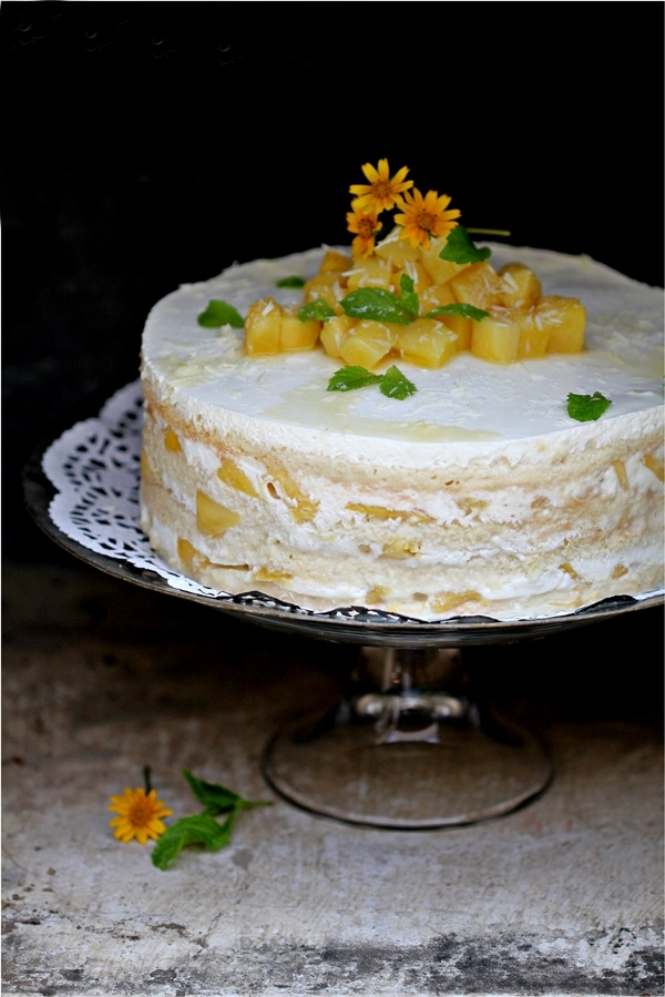 Mango Pastel de Tres Leches