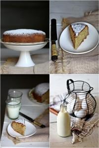 Whole wheat Lemon Tres Leches Cake