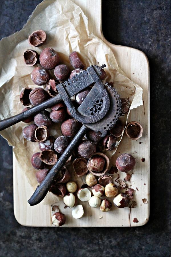 Hazelnuts & Vintage Nutcracker