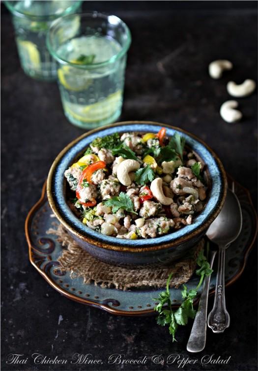 Thai Chicken Mince Salad | Larb Gai