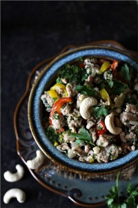 Thai Chicken Mince Salad Larb Gai
