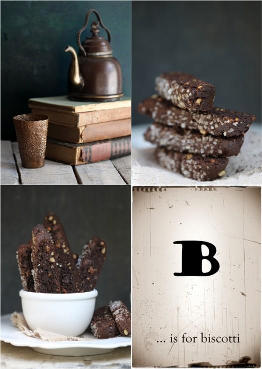 Wholegrain GF Amaranth Brownie Biscotti