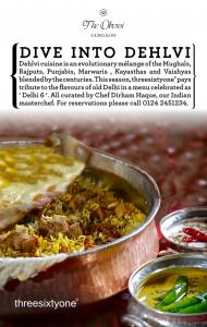 Dehlvi Cuisine Festival at threesixtyone at The Oberoi, Gurgaon 2