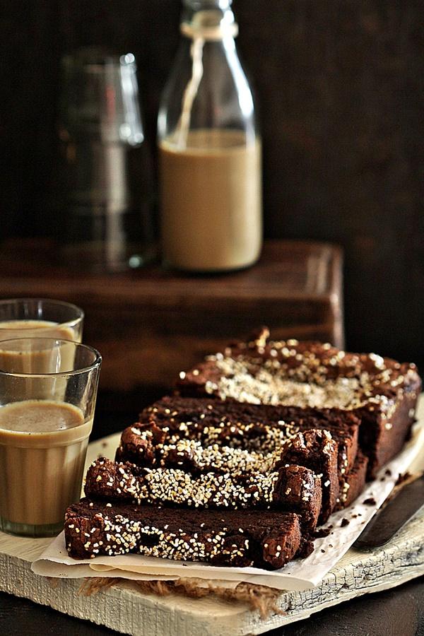 Avocado Dark Chocolate Buckwheat Cake {gluten free}