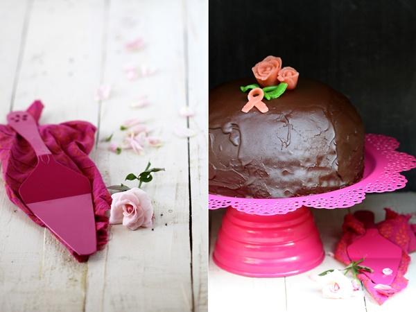 Prinsesstårta, Princess cake for Pinktober