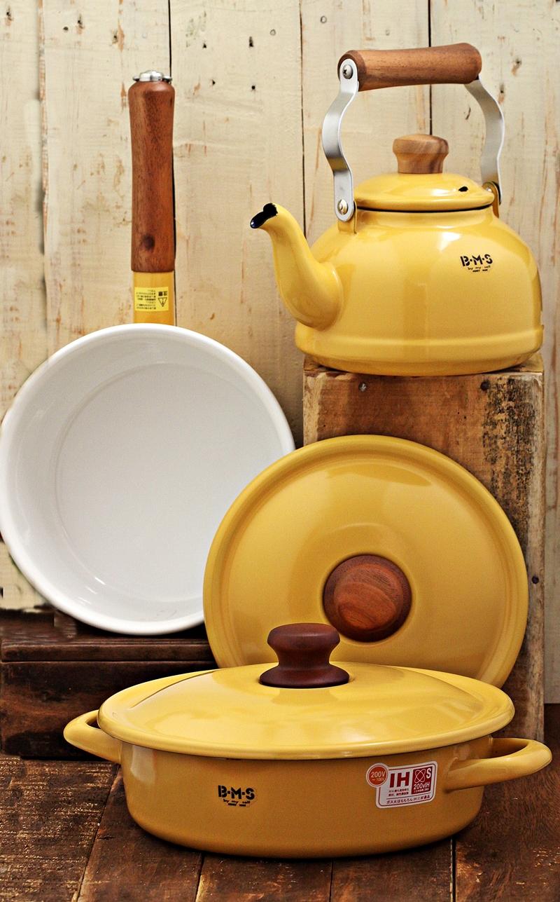 Fujihoro Porcelain Enameled Kitchenware
