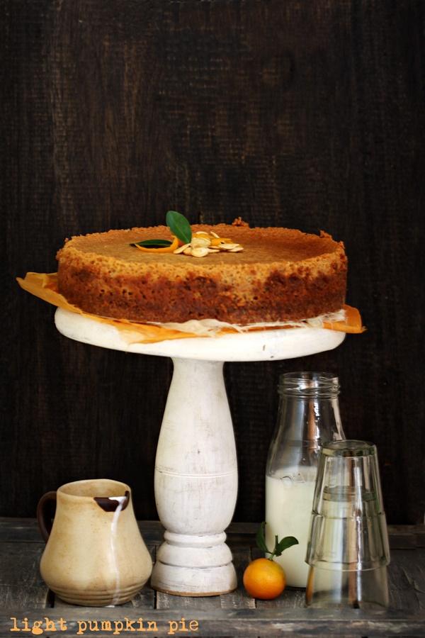 Light pumpkin pie 1