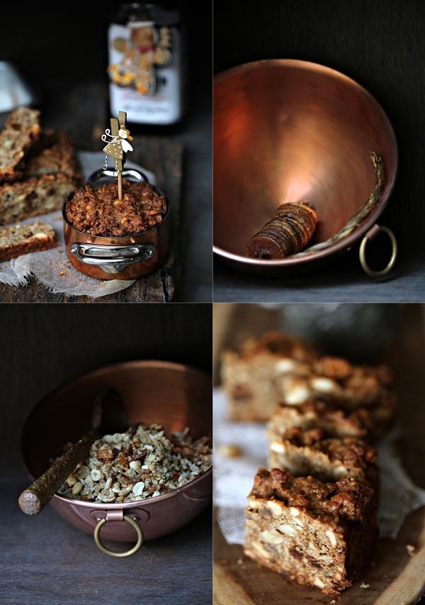 Wholegrain Bourbon Garam Masala Christmas Cake