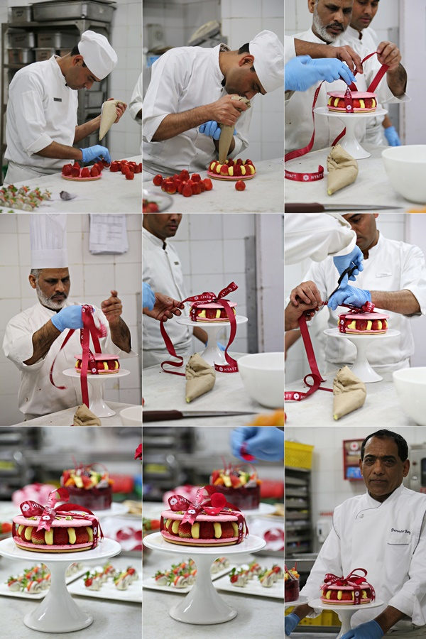 A day in the kitchen of Corporate Pastry Chef Bungla, Hyatt Delhi