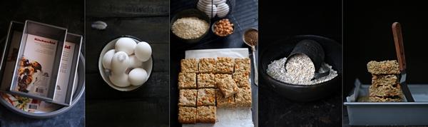 Wholewheat & Oat Butterscotch Blondies