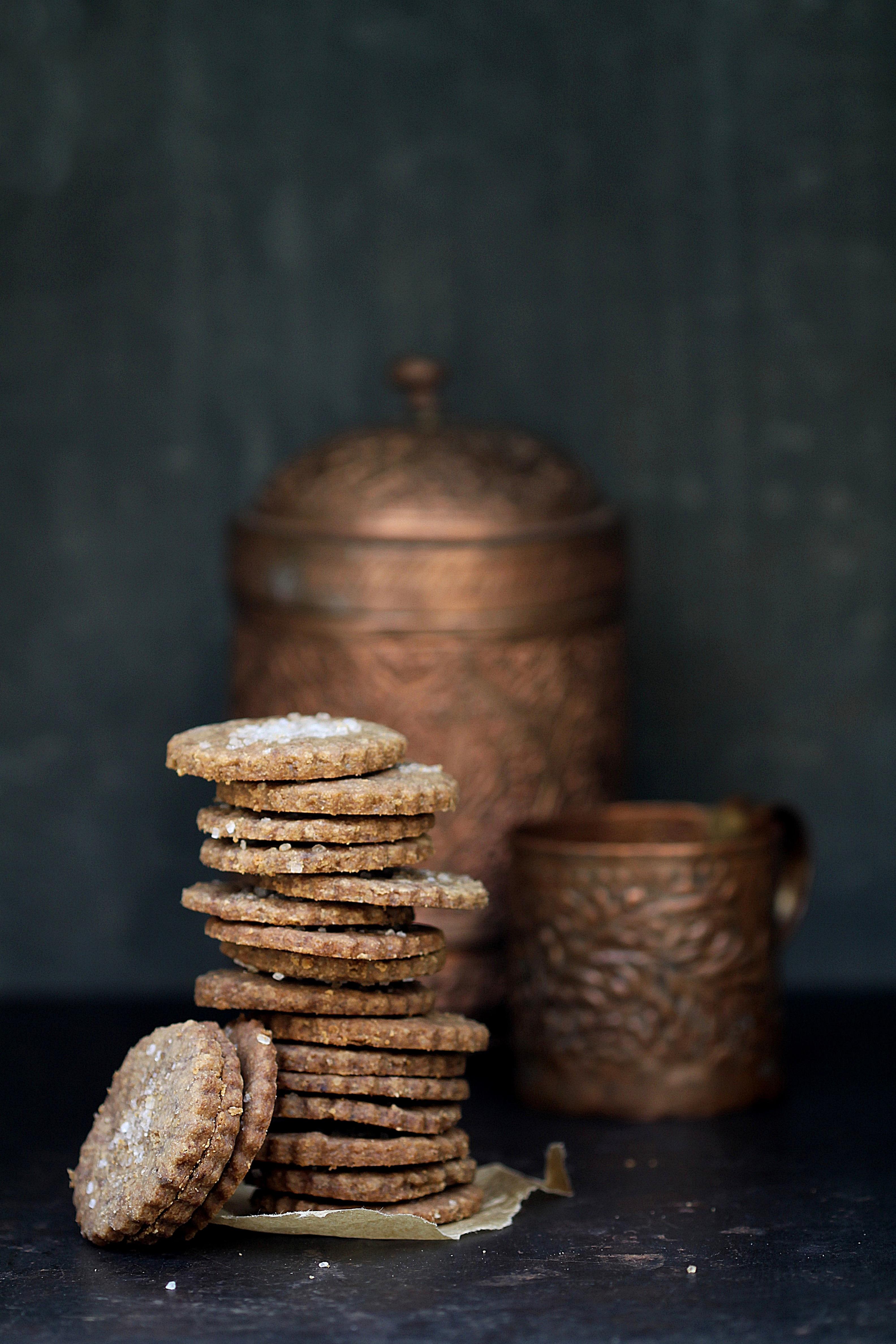 Coffee Shortbread Cookies