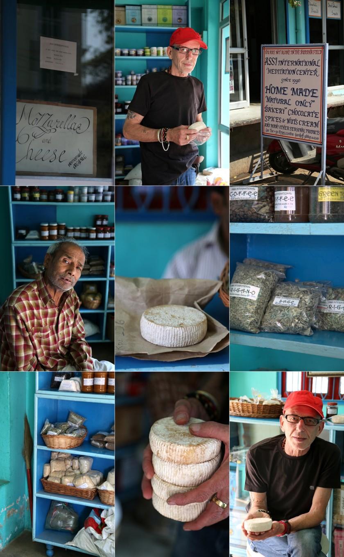 Caciotta, Artisan cheese, Banaras 2016