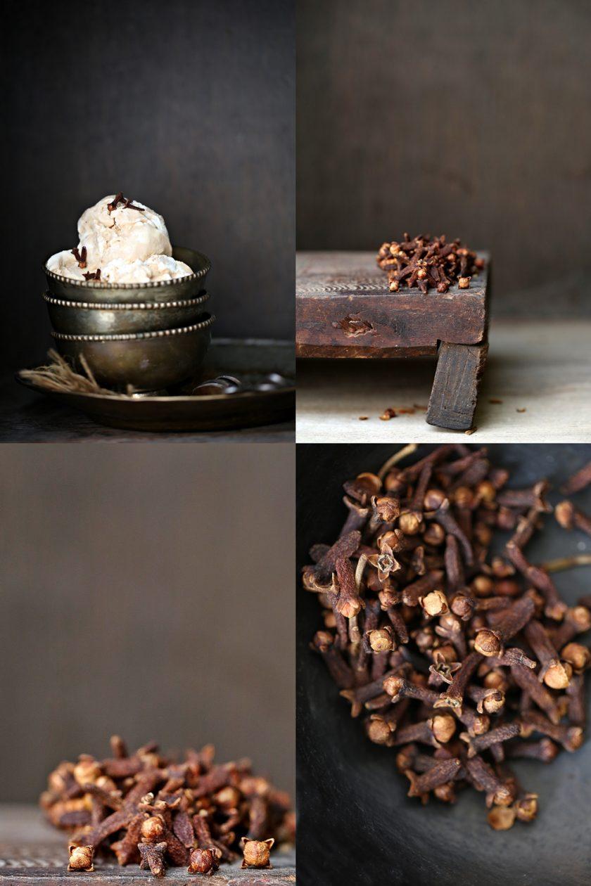 Clove Ice Cream, and cloves