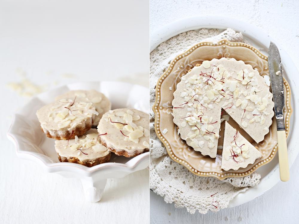 Eggless Almond Cake Recipe