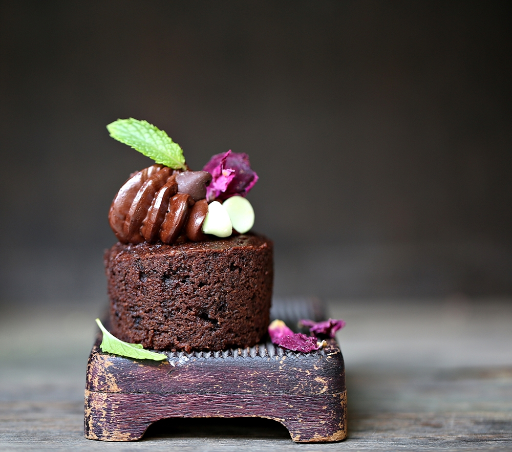 Whole Wheat Dark Chocolate Cupcakes